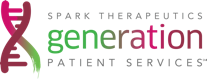 Spark Therapeutics Generation Patient ServicesSM logo